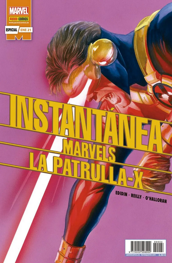 Instantánea Marvels: La Patrulla-X