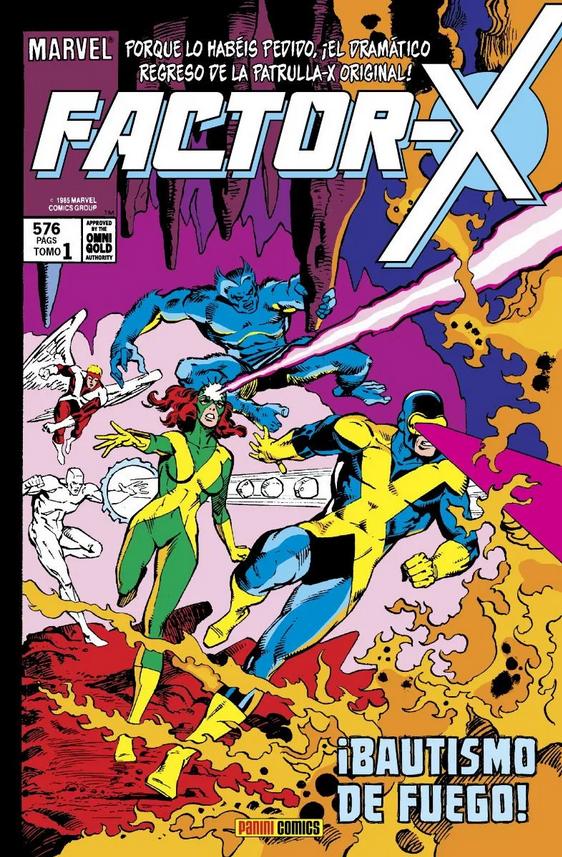 Marvel Gold. Factor-X #1: ¡Bautismo de fuego!