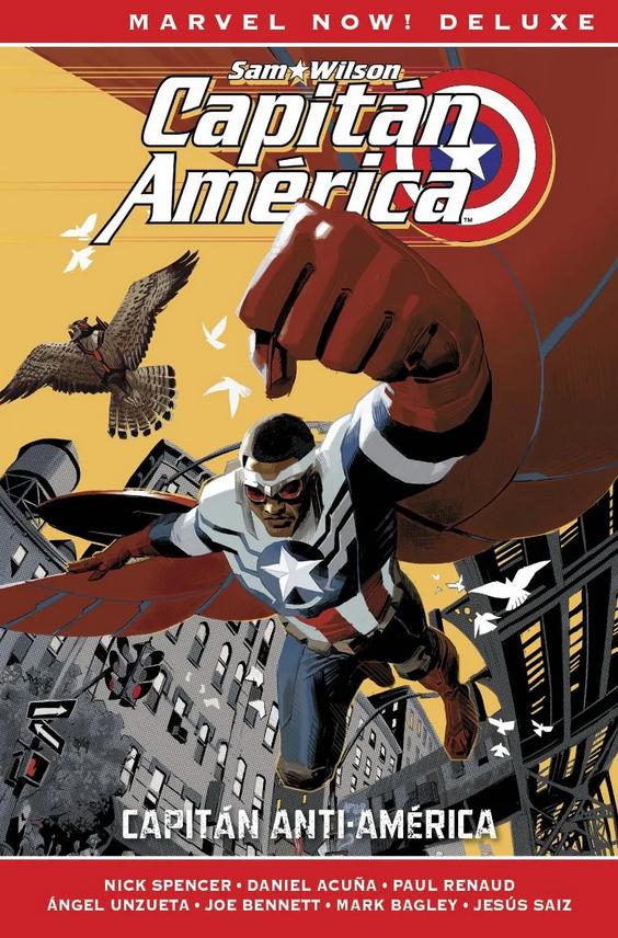 Marvel Now! Deluxe. Capitán América de Nick Spencer #1: Capitán Anti-América