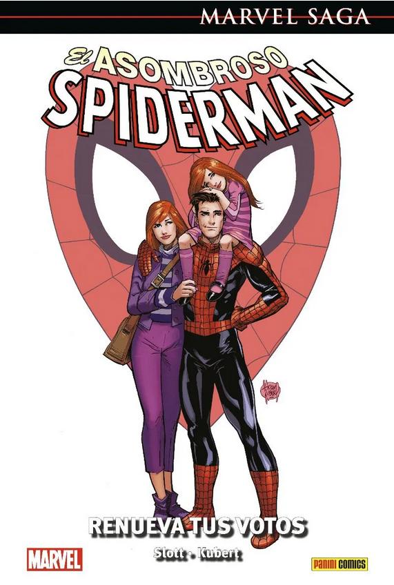 Marvel Saga. El Asombroso Spiderman #50: Renueva tus votos