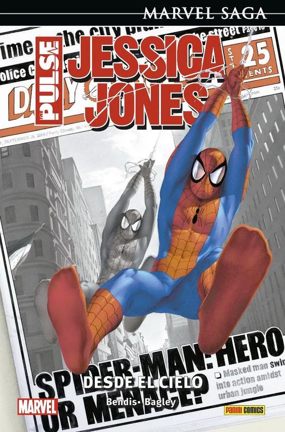 Marvel Saga. Jessica Jones: The Pulse 1 - Desde el cielo