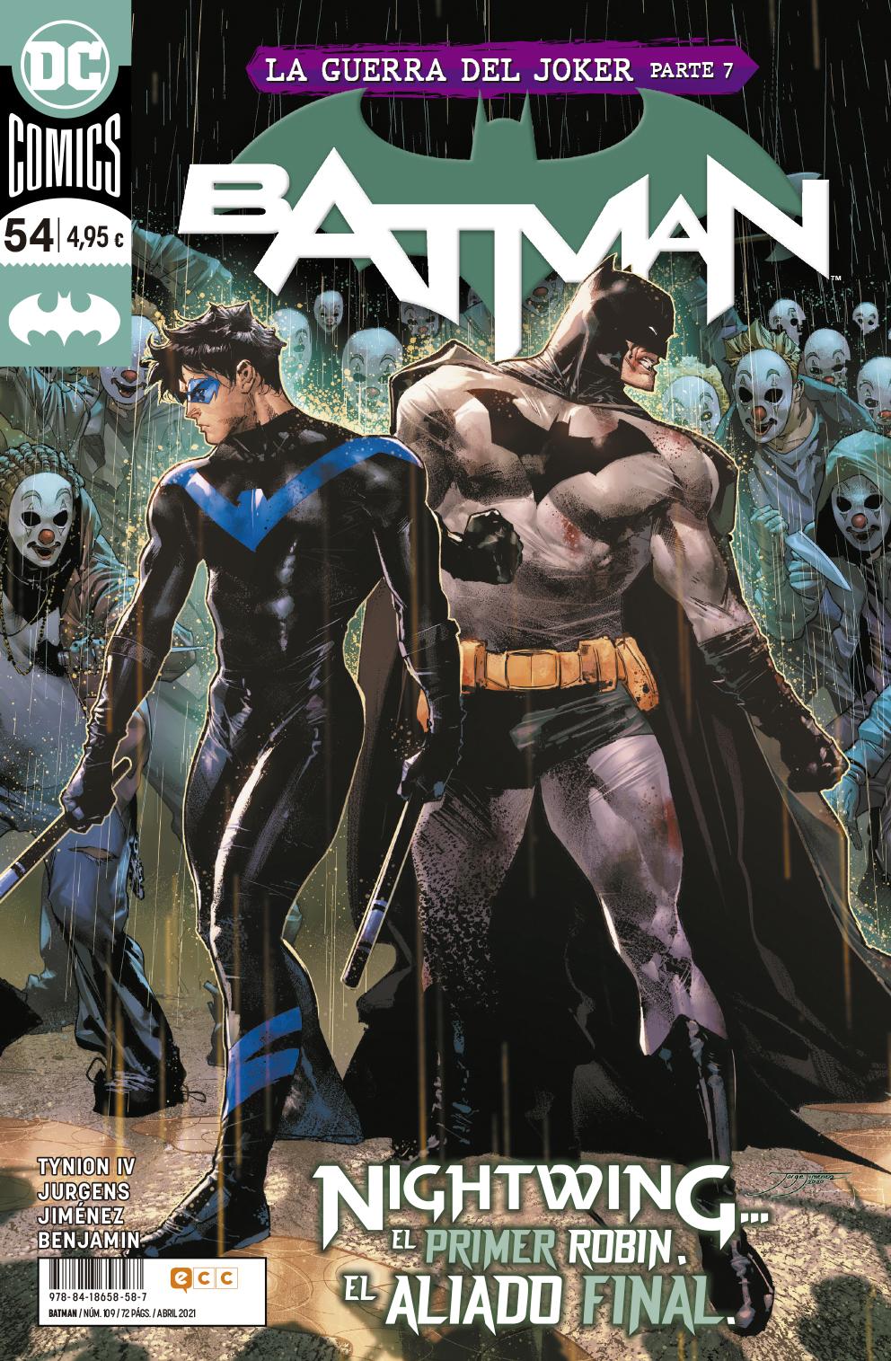 Batman #109 / 54