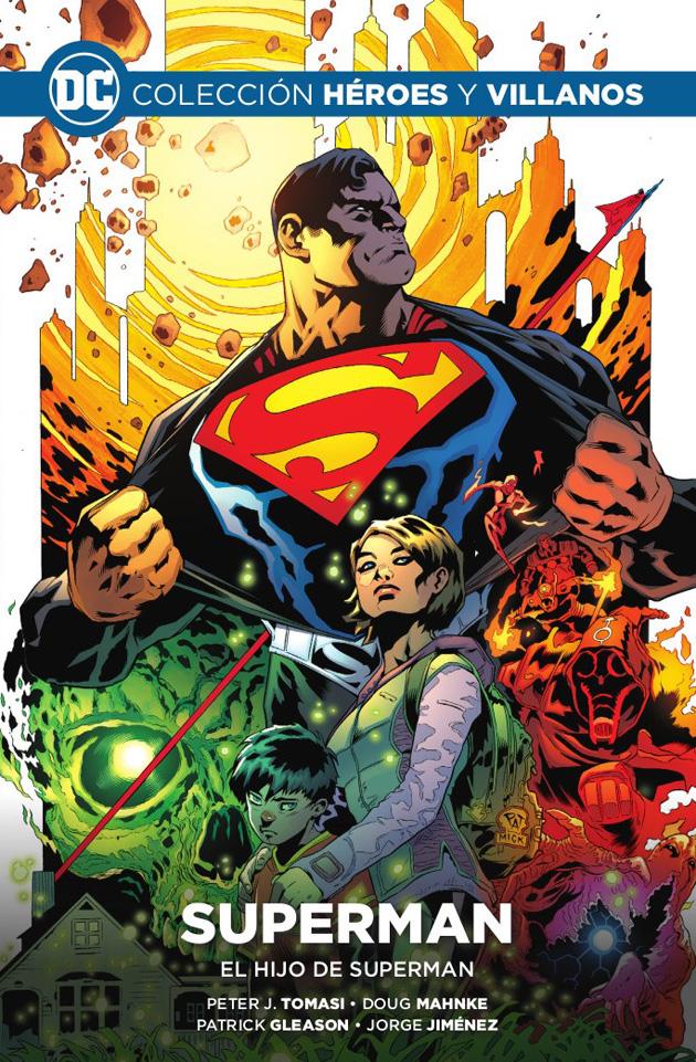 Colección Héroes y Villanos Vol.06 - Superman: El Hijo de Superman