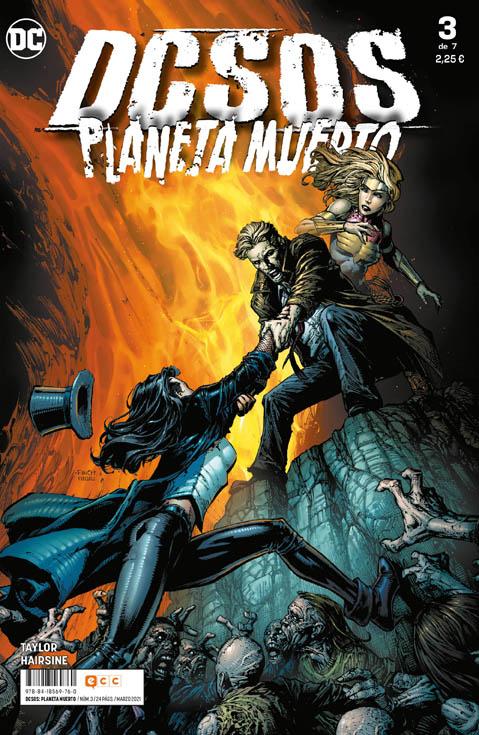 DCsos: Planeta Muerto #3