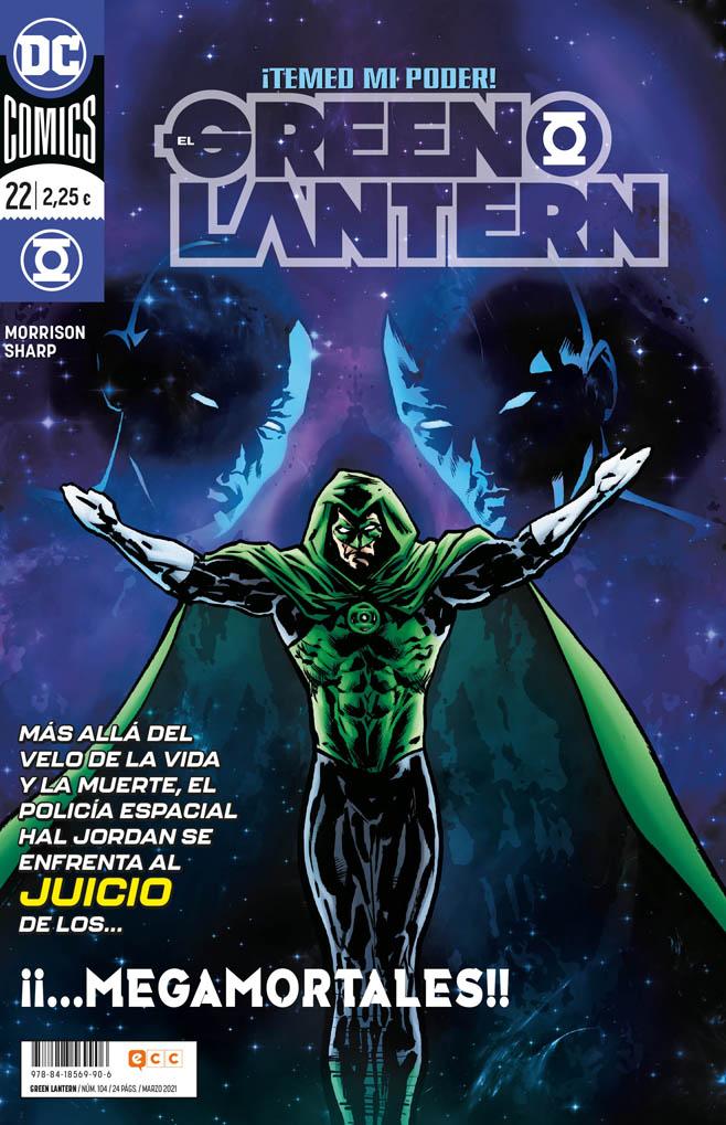El Green Lantern #104 / 22