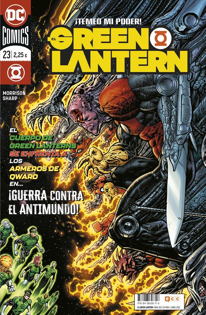 El Green Lantern #105 / 23