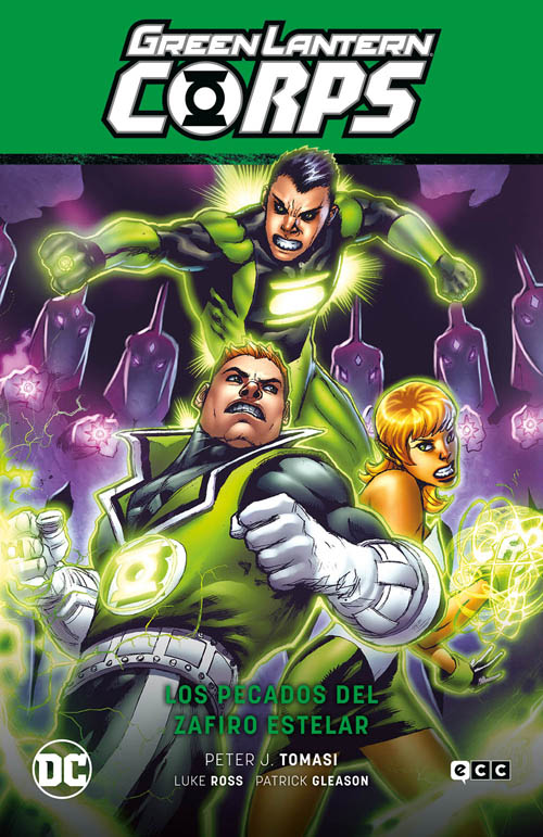 Green Lantern Corps Vol.05: Los pecados de Zafiro Estelar (GL Saga - La noche más oscura Parte 4)