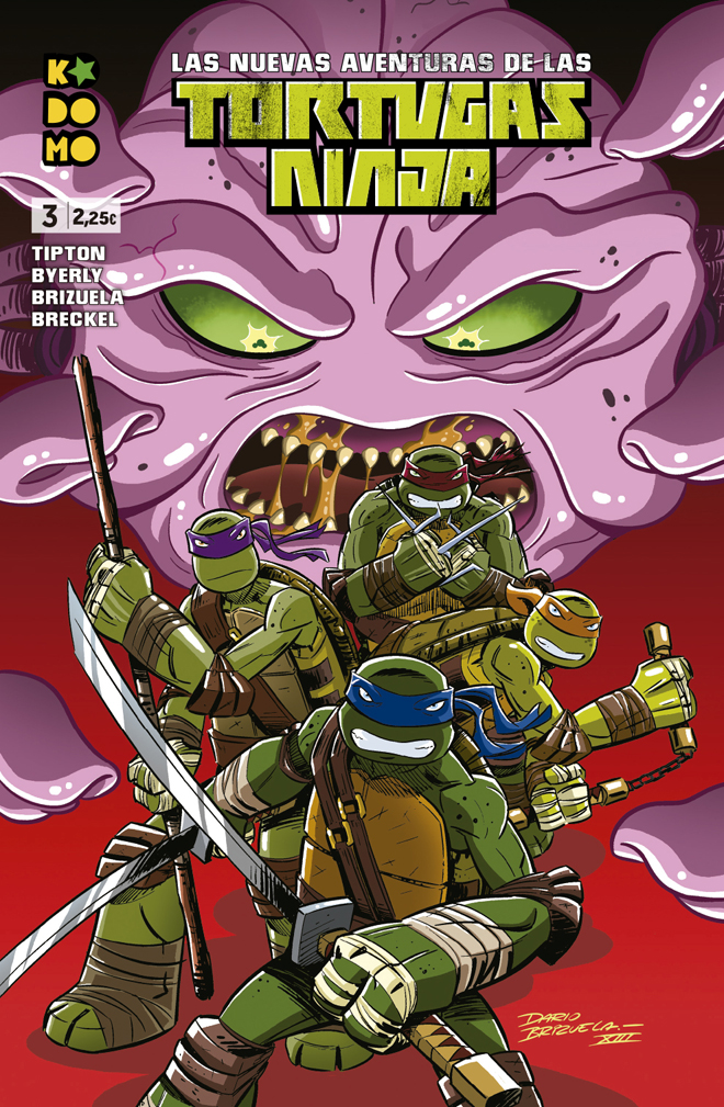 Las nuevas aventuras de las Tortugas Ninja #03