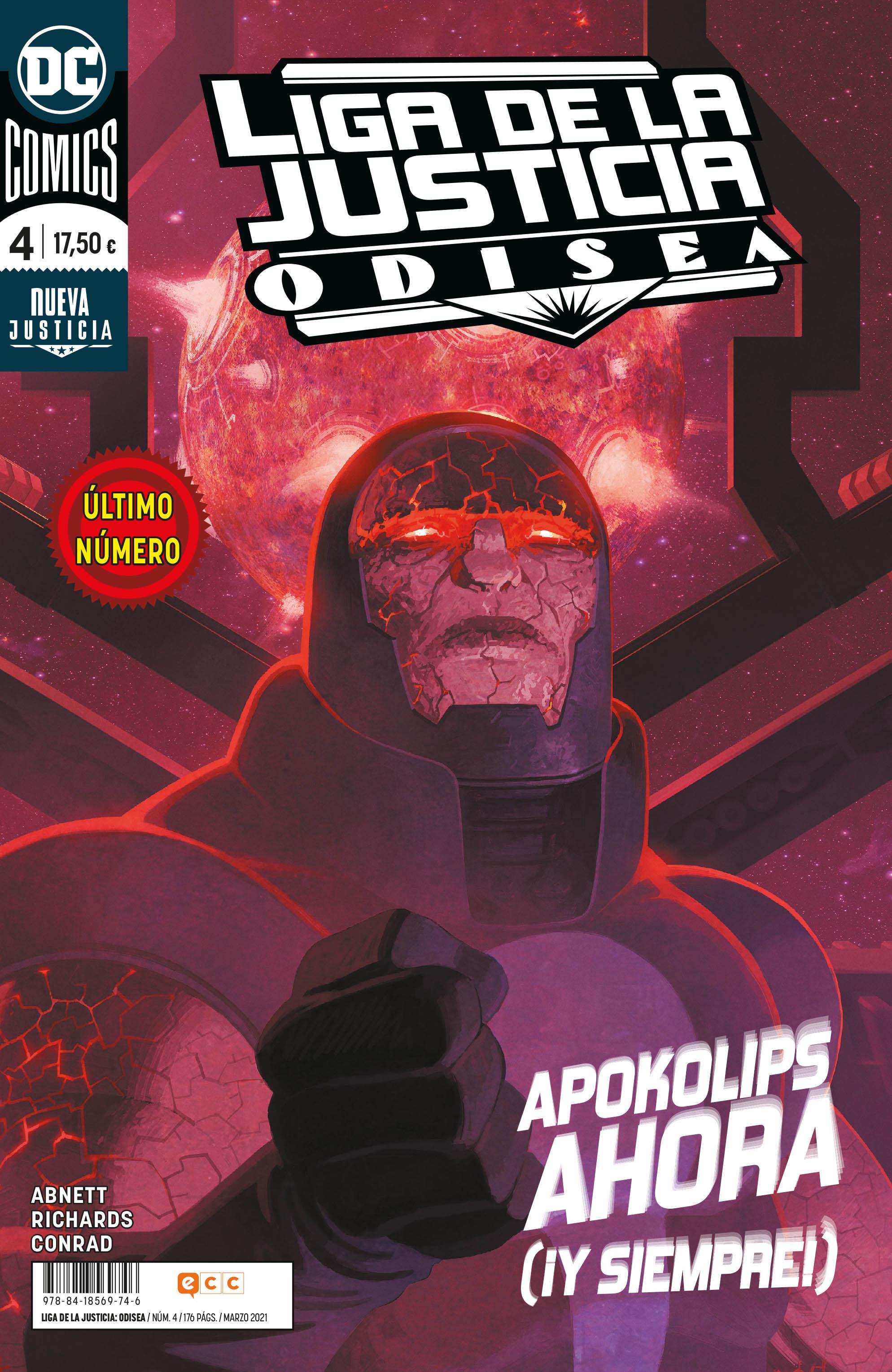 Liga de la Justicia: Odisea #4 (Último número)
