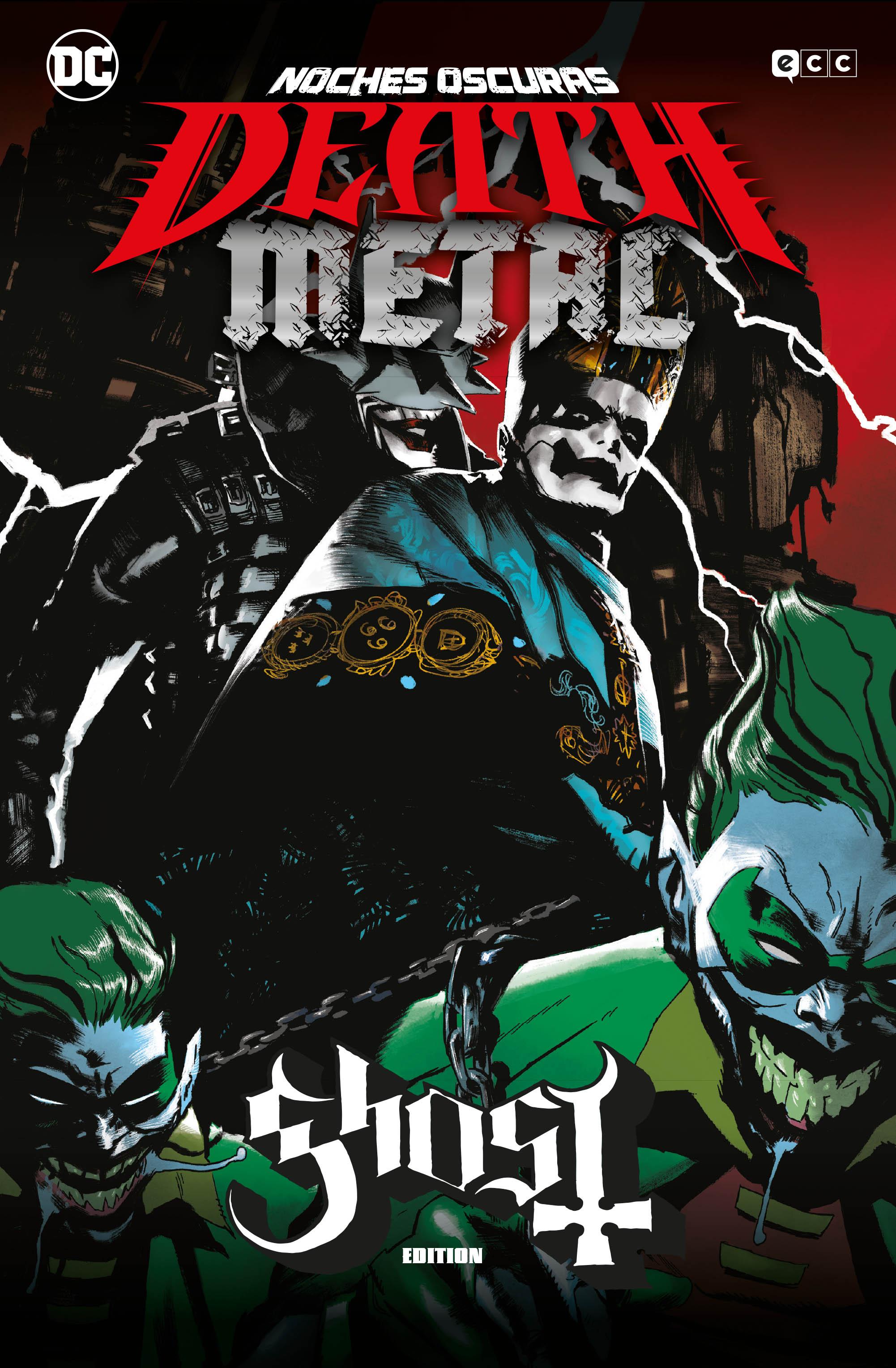 Noches Oscuras: Death Metal #1 (Megadeth Band Edition) y #2 (Ghost Band Edition) (Rústica)