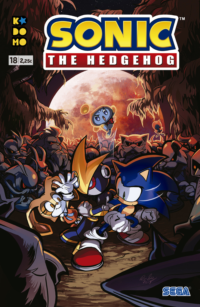 Sonic The Hedgehog #18