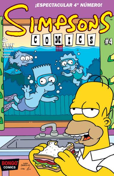 SIMPSONS COMICS - #04