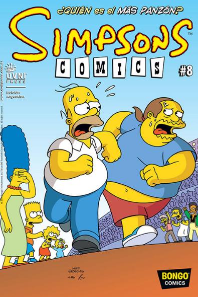 SIMPSONS COMICS - #08