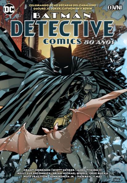 BATMAN - DETECTIVE COMICS: 80 AÑOS