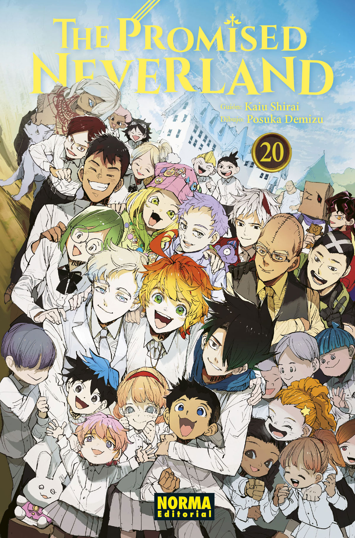 THE PROMISED NEVERLAND #20 (ÚLTIMO TOMO)
