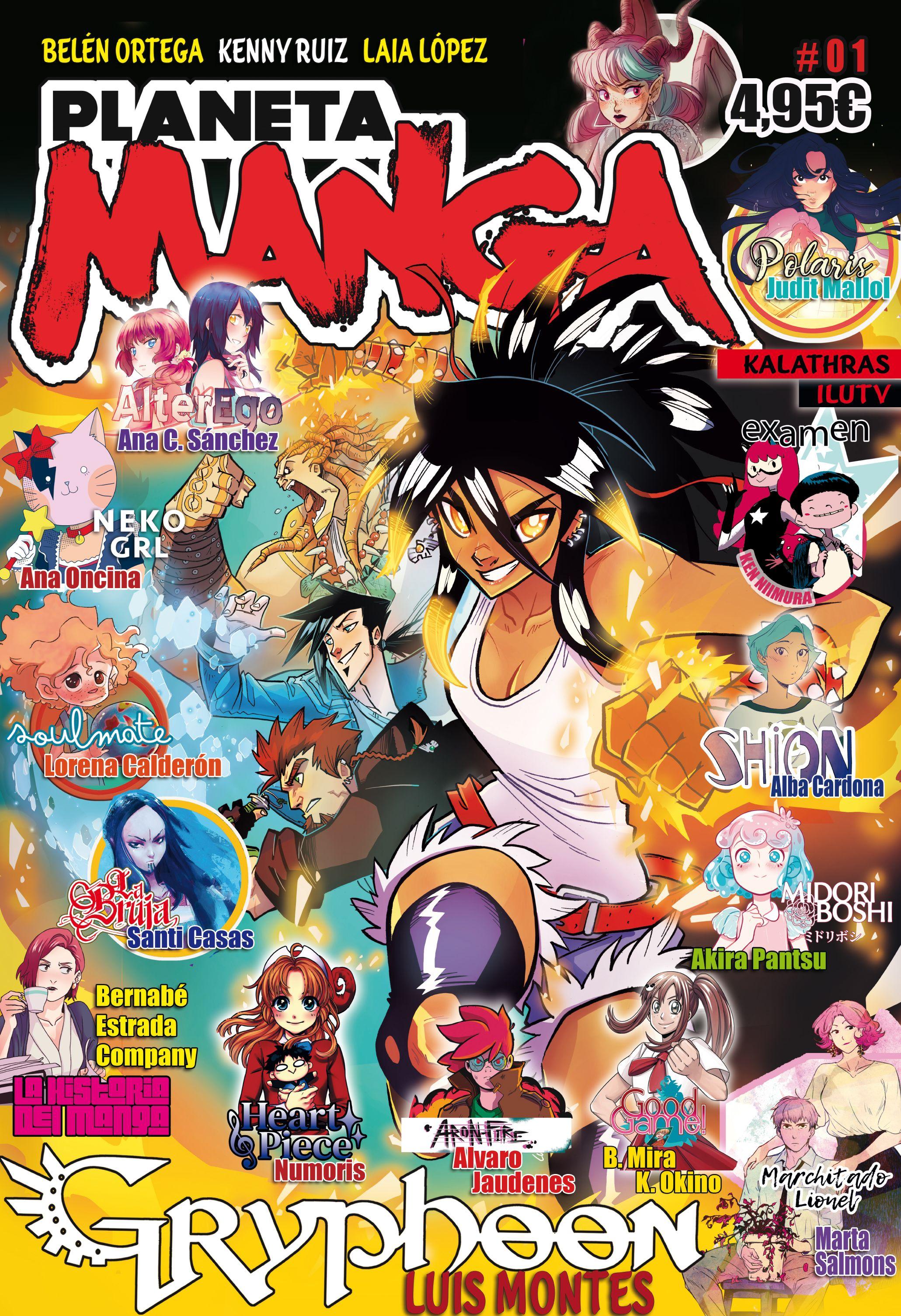 Planeta Manga #01