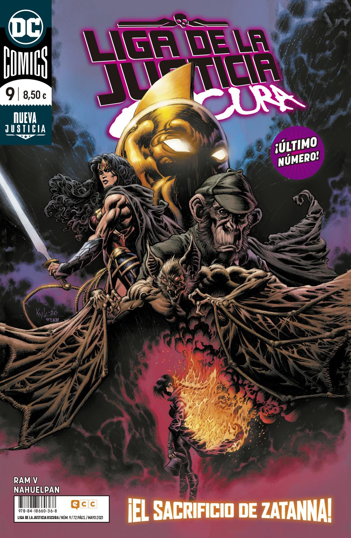 Liga de la Justicia Oscura Vol.2 #09