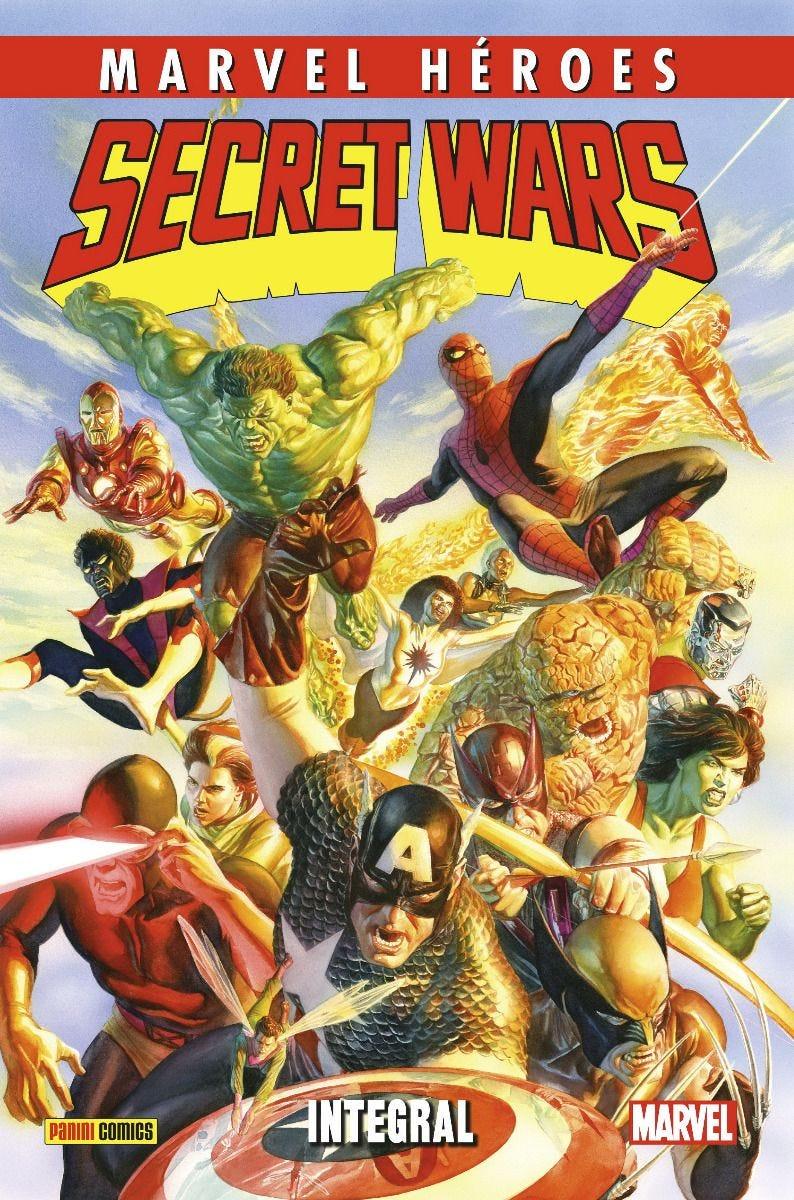 Marvel Héroes. Secret Wars (Nueva Edición) Integral
