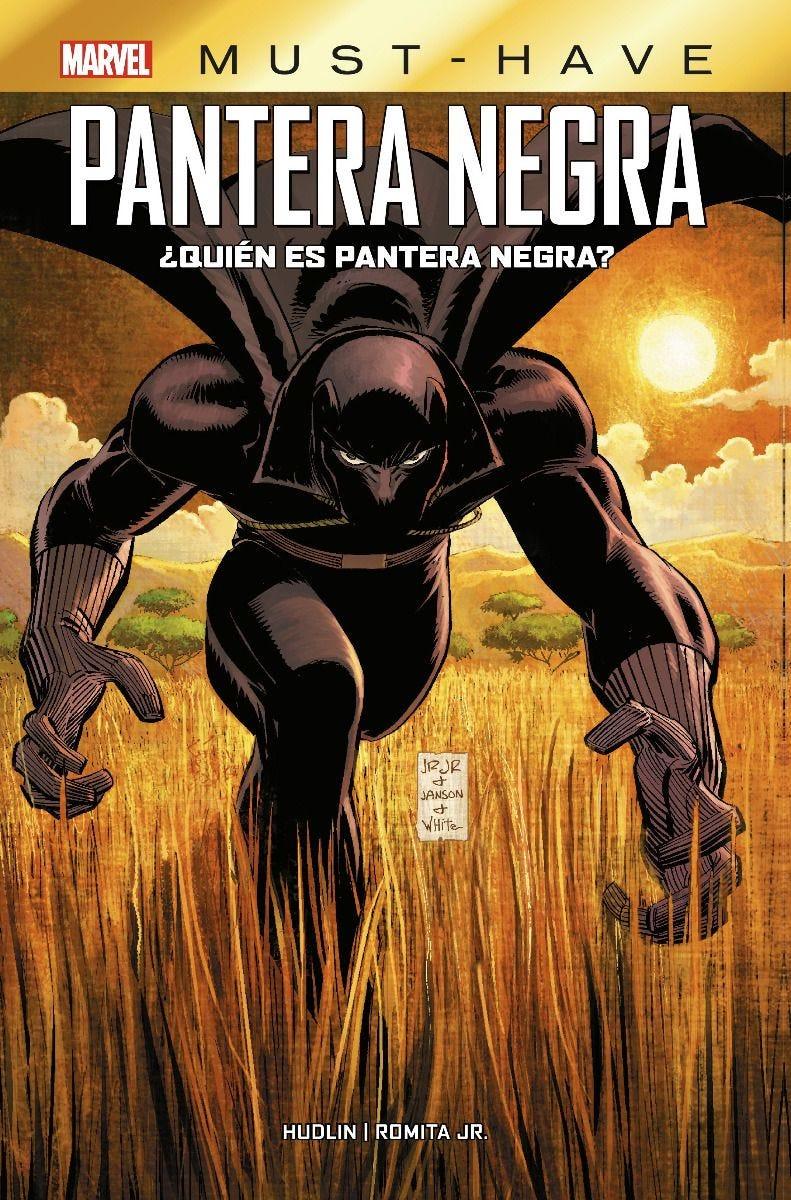 Marvel Must-Have. Pantera Negra: ¿Quién es Pantera Negra?