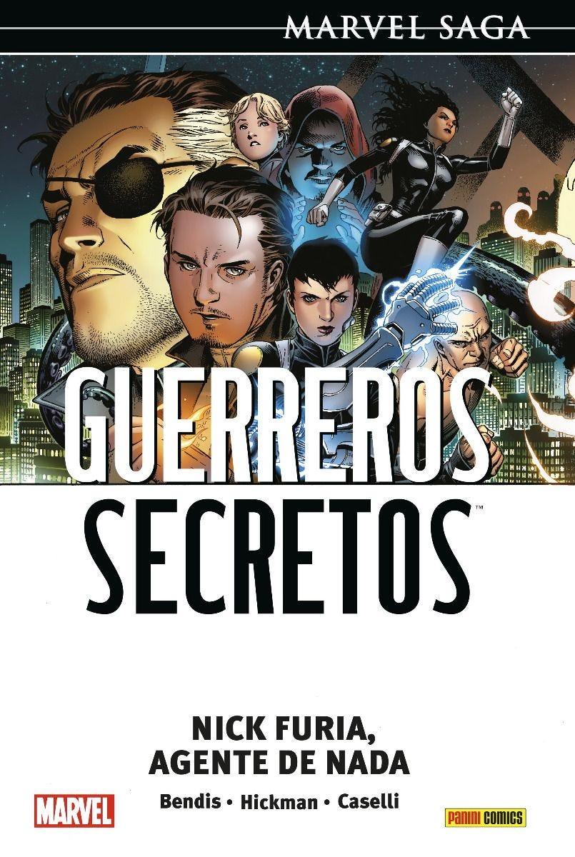 Marvel Saga. Guerreros Secretos #1: Nick Furia, Agente de Nada