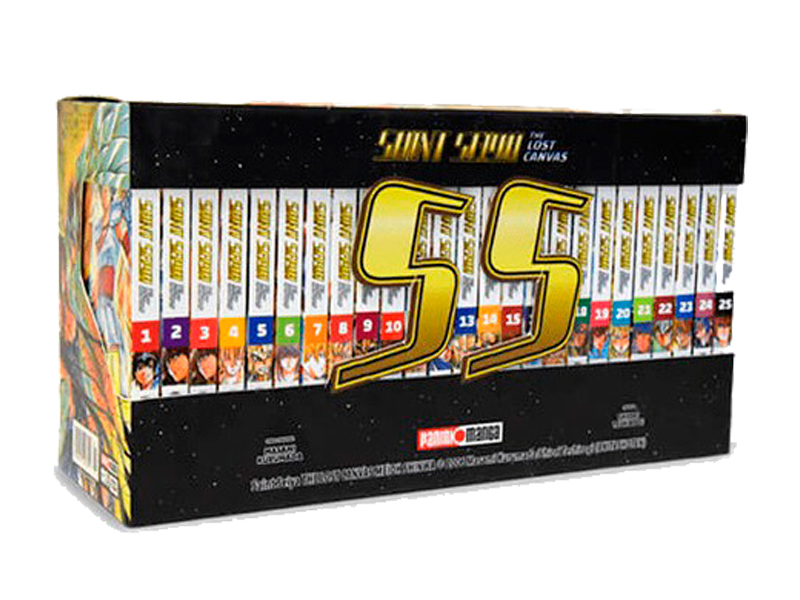 Saint Seiya Lost Canvas - Box set