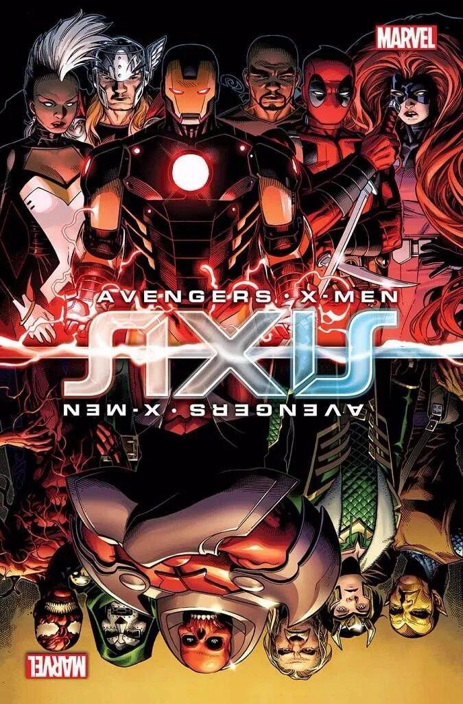 Avengers. X-Men. axis