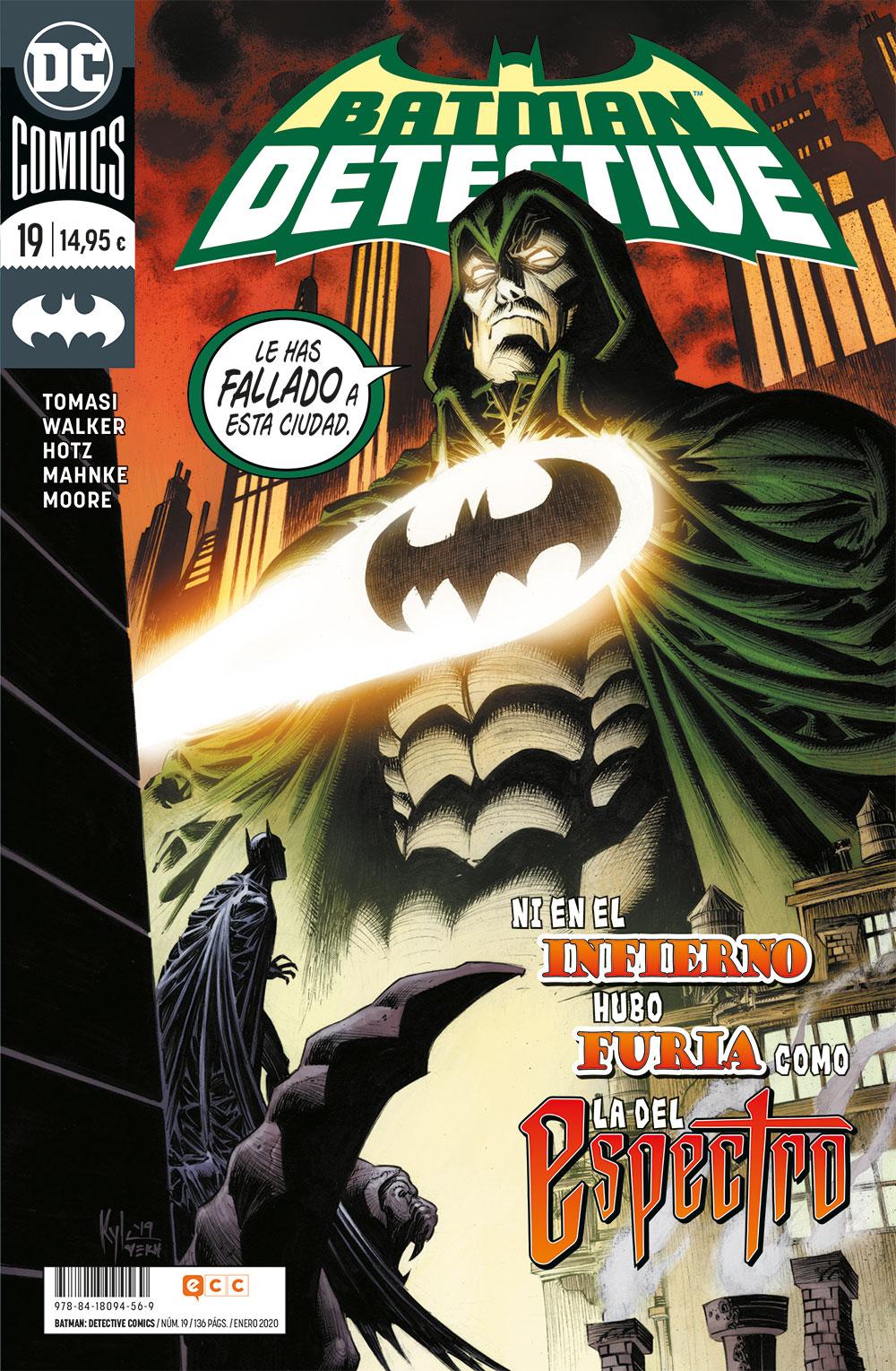 Batman: Detective Cómics #19