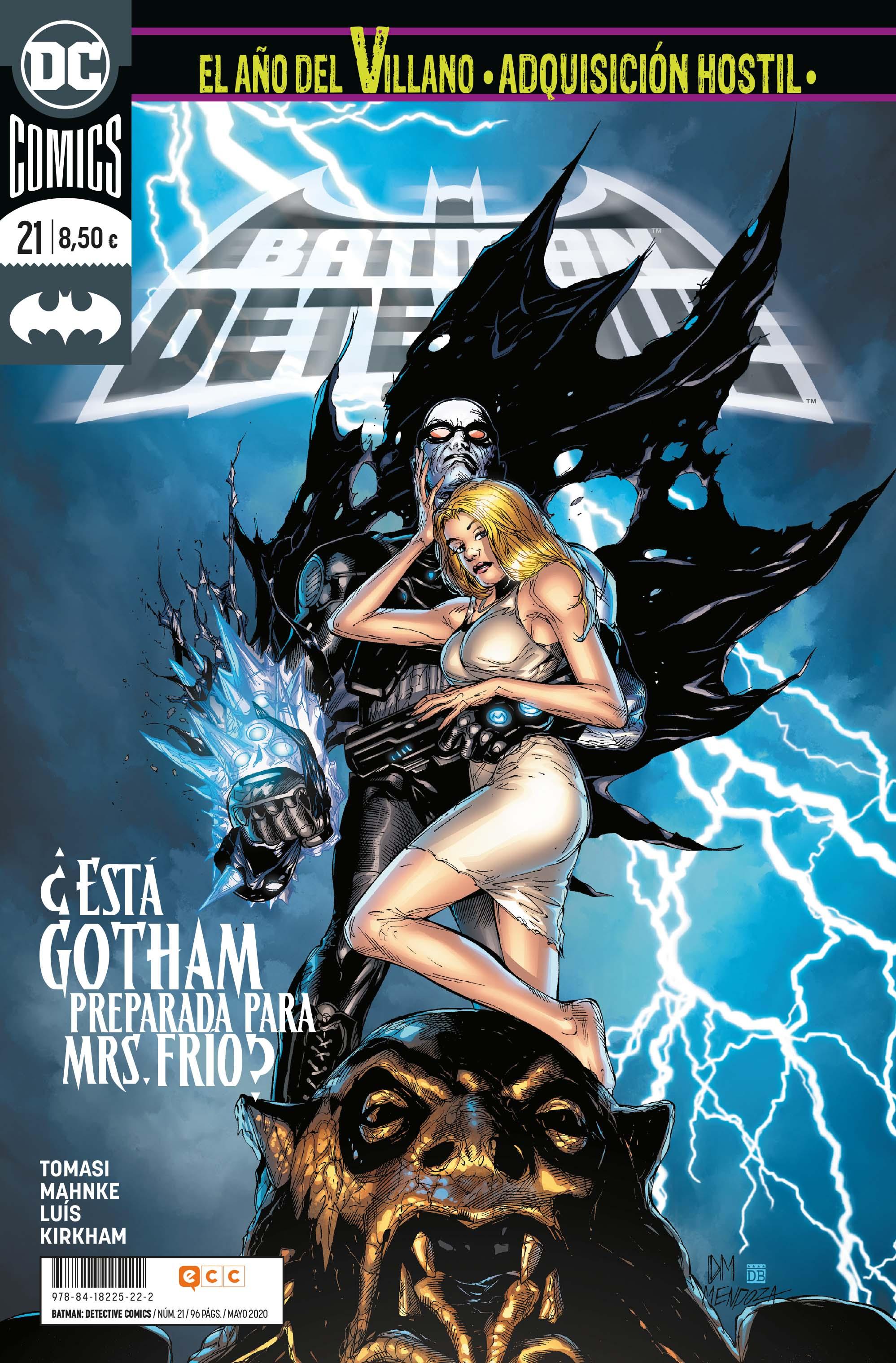 Batman: Detective Cómics #21