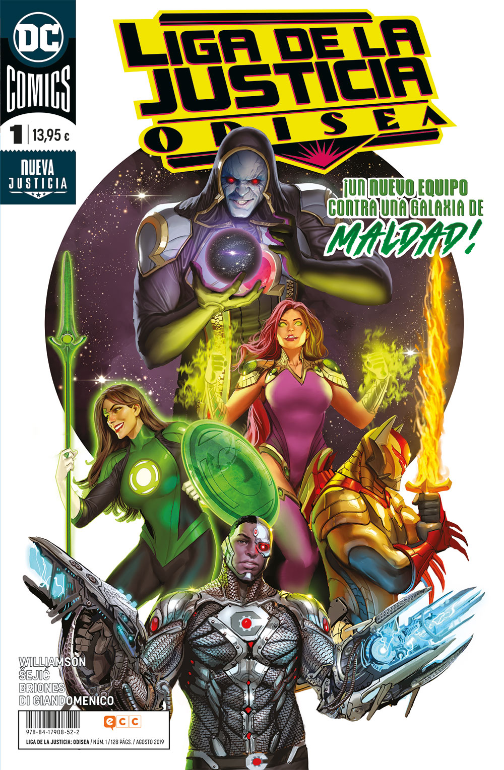 Liga de la Justicia: Odisea #1