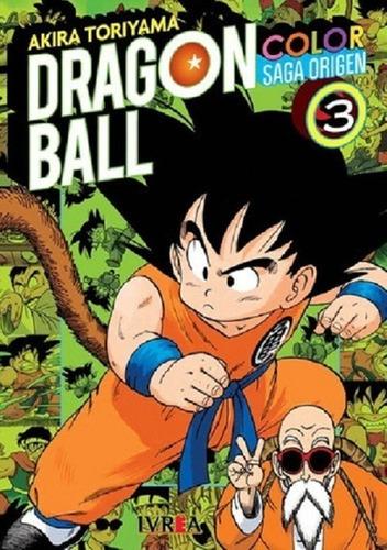 Dragon Ball Color - Saga Origen Tomo #3