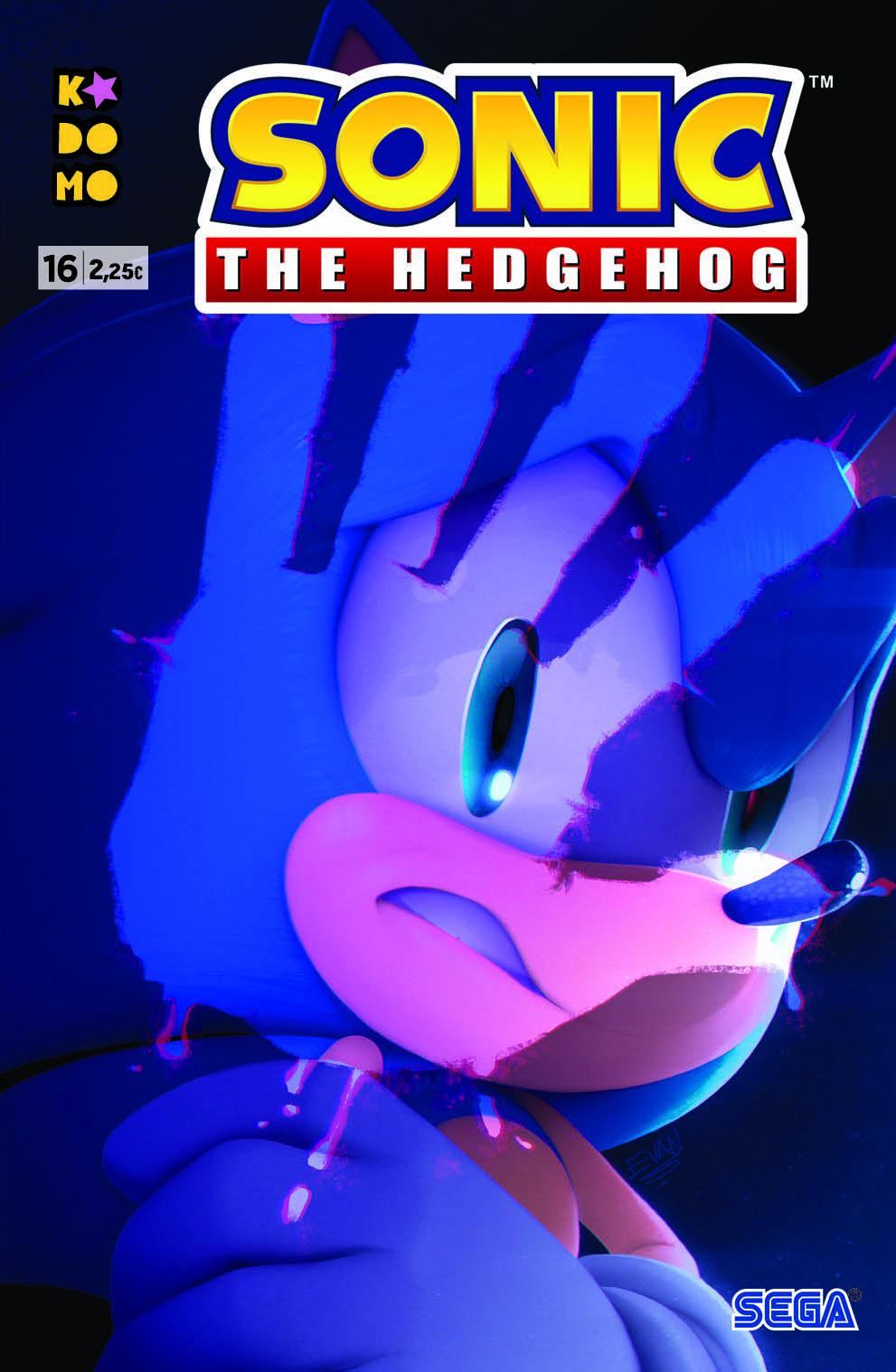Sonic The Hedgehog #16