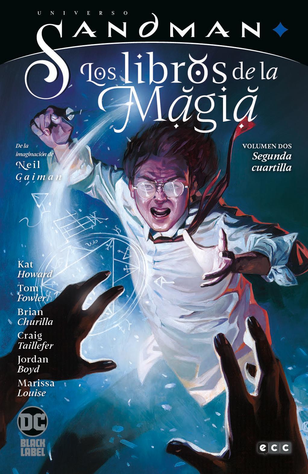 Universo Sandman - Los libros de la magia vol. 2: Segunda cuartilla