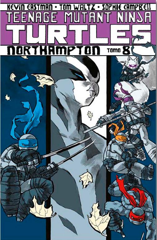 Teenage Mutant Ninja Tomo 8