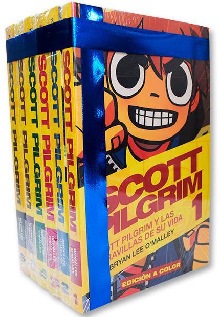 Scott Pilgrim - Completo en colores