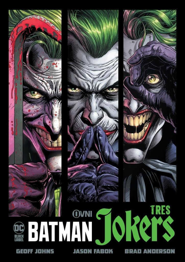 BATMAN: TRES JOKERS.
