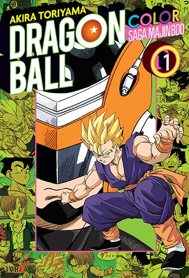 Dragon Ball Z - Saga de Majin Boo - Tomo 1