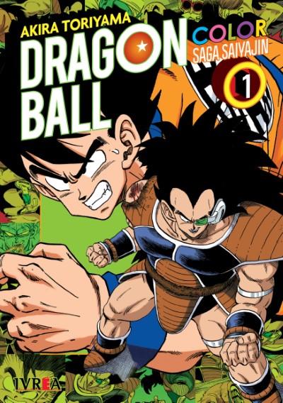 Dragon Ball Color -Saga Saiyajin #1
