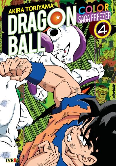 Dragon Ball Z Color - Saga Freezer Tomo #4