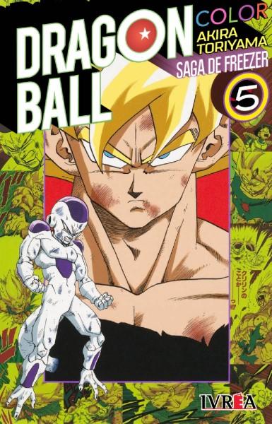 Dragon Ball Z Color - Saga Freezer Tomo #5