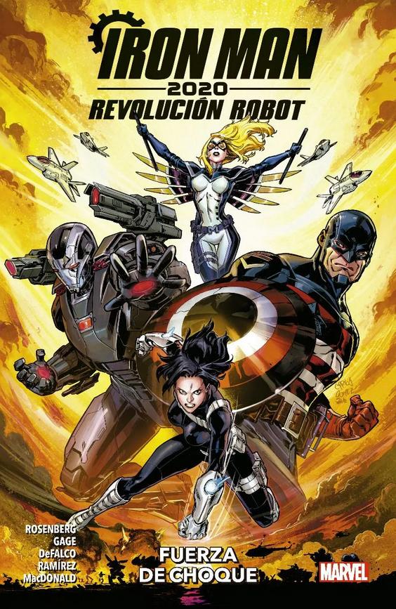 Iron Man 2020. Revolución Robot #1: Fuerza de Choque