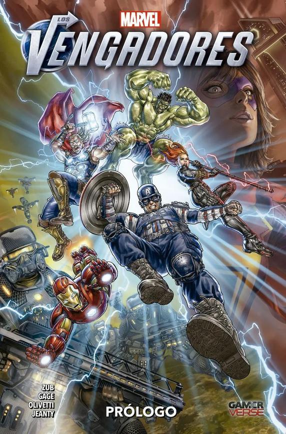 Los Vengadores: Gamerverse Prólogo