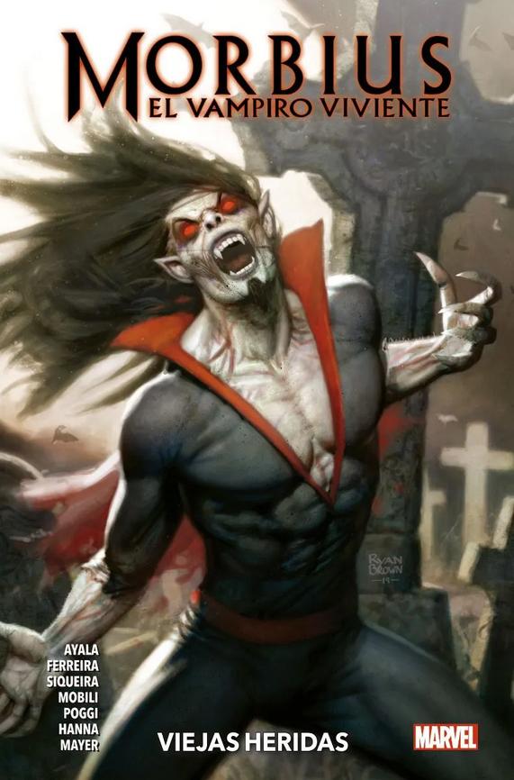 Morbius: El Vampiro Viviente #1 - Viejas heridas