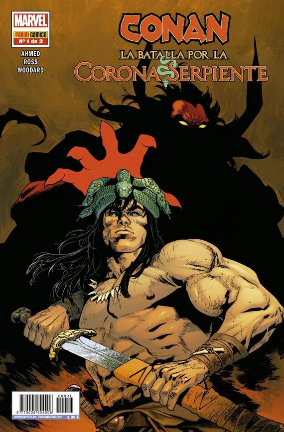 Conan: La Batalla por la Corona Serpiente Pack (3 de 3)