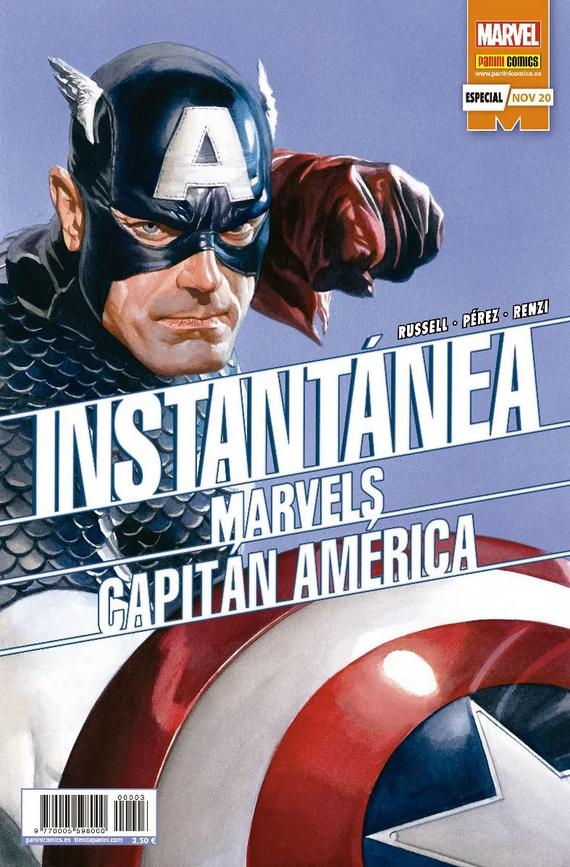 Instantánea Marvels: Capitán América