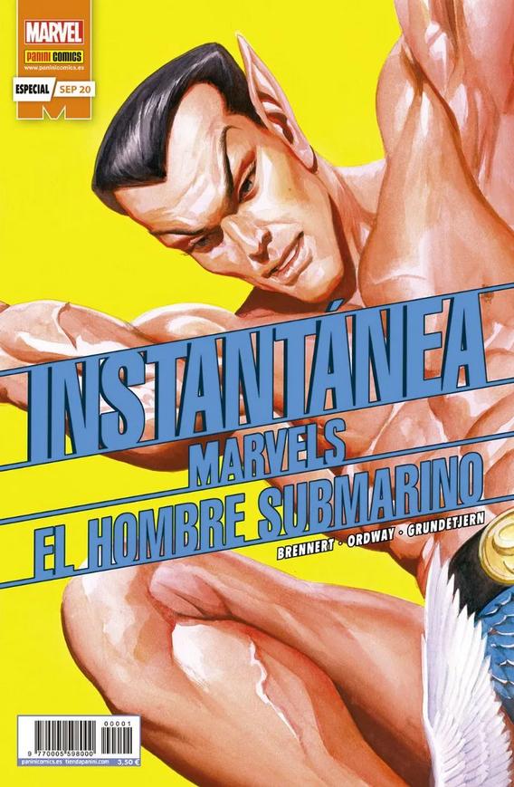Instantánea Marvels: El Hombre Submarino