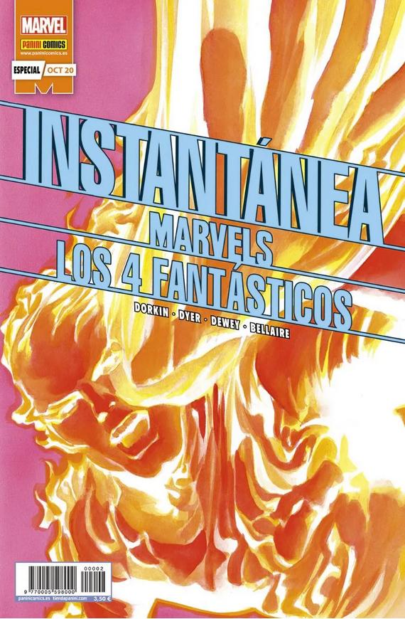 Instantánea Marvels: Los 4 Fantásticos