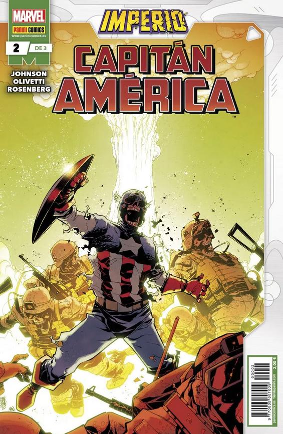 Imperio: Capitán América Pack (3 de 3)