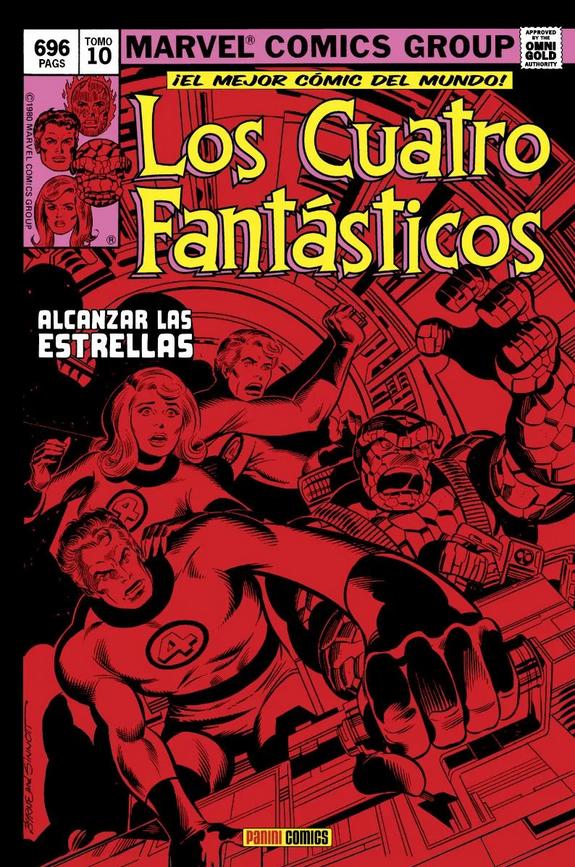 Marvel Gold. Los Cuatro Fantásticos  #10: Alcanzar las estrellas