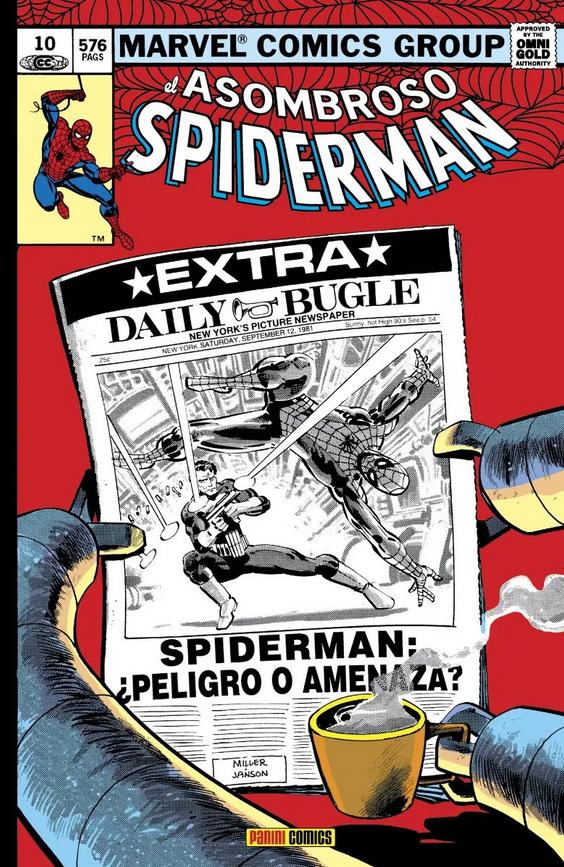 Marvel Gold. El Asombroso Spiderman #10: ¿Peligro o amenaza?