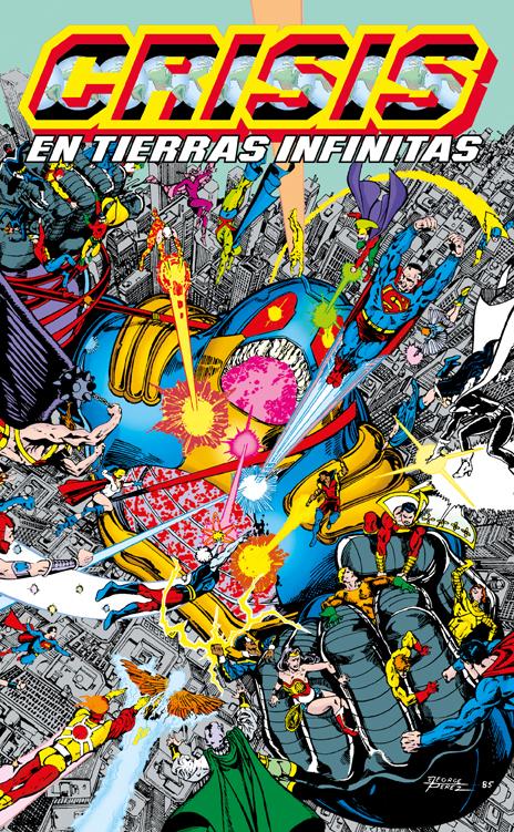 Crisis en Tierras Infinitas XP Vol.5 de 5